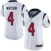 Women's Houston Texans Deshaun Watson White Limited Jersey By Nike