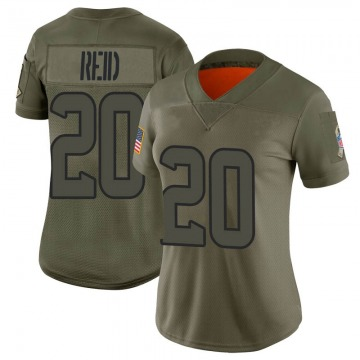 Women's Houston Texans Justin Reid Camo Limited 2019 Salute to Service Jersey By Nike