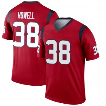 Youth Houston Texans Buddy Howell Red Legend Jersey By Nike