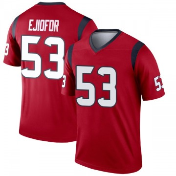 Youth Houston Texans Duke Ejiofor Red Legend Jersey By Nike