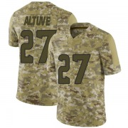 Youth Houston Texans Jose Altuve Camo Limited 2018 Salute to Service Jersey By Nike