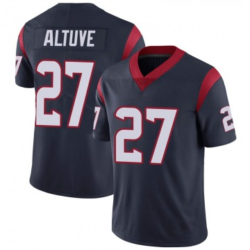 Youth Houston Texans Jose Altuve Navy Limited 100th Vapor Jersey By Nike