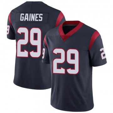 Youth Houston Texans Phillip Gaines Navy Blue Limited Team Color Vapor Untouchable Jersey By Nike